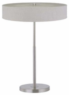 Lite Source LS21358PSWHT Saggio Contemporary Table Lamp