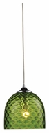 ELK 31080/1GRN Viva Green Satin Nickel 7 Inch Tall Mini Pendant Lighting