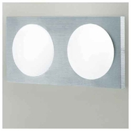 Zaneen D23031 Dome 2-light Contemporary Style Vanity Light