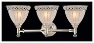 Kenroy Home 3527 Crystallo 3-Lamp Vanity Light