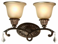 Artcraft AC1837 Florence 2-Lamp Vanity Light