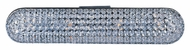 ET2 E24041-20PC Brilliant Crystal 24 Inch Wide Polished Chrome