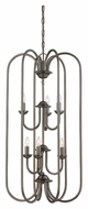 Thomas SL891815 Bella 6 Candle 31 Inch Tall Oiled Bronze Foyer Lighting Fixture