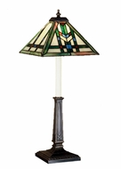 Meyda Tiffany 47836 Prairie Wheat 24 Inch Tall Tiffany Style Buffet Lamp