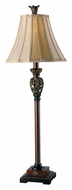Kenroy Home 20182GR Iron Lace Traditional 32 Inch Tall Buffet Lamp - Golden Ruby Finish