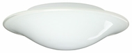 Besa 2CS909639 Luma Slim Fluorescent Flush Mount Ceiling Light or Wall Lamp