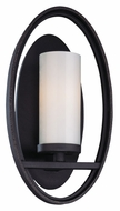 Troy B2801 Eclipse Contemporary 12 Inch Tall Bronze Wall Sconce Light Fixture