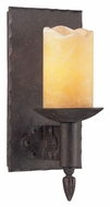 Troy B2581 Academy Traditional Weathered Rust 11 Inch Tall Wall Lamp