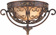 Troy F1103VB La Paloma 15 inches wide Filigree Iron Wall Sconce Lighting Fixture