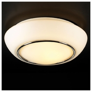 PLC 21022 Centrum Small Contemporary Semi-Flush Ceiling Light