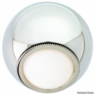 CSL SS1042 Orb Modern Wall Sconce with LED Option