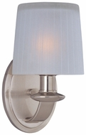 Maxim 21507FTSN Finesse Satin Nickel Contemporary Sconce