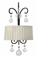 Fredrick Ramond 49430RCO Prosecco 2-light Wall Sconce Light with Hand Blown Glass Ornaments