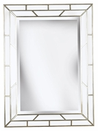 Kenroy Home 60015 Lens Silver 38 Inch Tall Wall Mounted Mirror