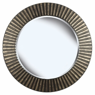 Kenroy Home 60021 North Beach Bronze Finish Wall Mounted Mirro - 34 Inch Diameter