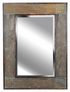 Kenroy Home 60089 White River Wall Mounted Rectangular Natural Slate Mirror