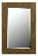 Kenroy Home 60202 Eureka Dark Wood Grain 42 Inch Tall Rectangular Home Mirror