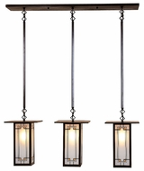 Arroyo Craftsman FICH-9L/3 Franklin Craftsman Indoor/Outdoor Multi Pendant