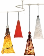 Tech TT-OVATION T-Trak Ovation Glass Line-Voltage Pendant Light with Fluorescent Option