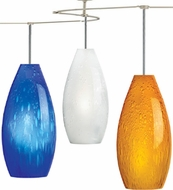 Tech TT-SODA T-Trak Soda Glass Line-Voltage Pendant Light with Fluorescent Option
