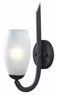 Kenroy Home 91921FGRPH Mirage Forged Graphite 15 Inch Tall Wall Sconce Lighting Fixture