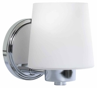 Kenroy Home 91971CH Marilyn Chrome Finish 7 Inch Tall Wall Lighting Sconce