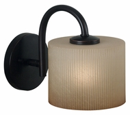 Kenroy Home 80331ORB Matrielle 8 Inch Tall Transitional Wall Lighting Sconce - Oil Rubbed Bronze