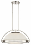 Quoizel UPFT1820IS Uptown Fulton by Sergio Orozco Modern 3 Light Imperial Silver Hanging Lamp