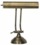 House of Troy AP102171 AP10-21 Advent Piano Lamp in Antique Brass