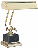 House of Troy P10101B P10-101 Ten Inches Piano Lamp with Black Marble