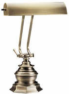 House of Troy P1011171 P10-111 Ten Inch Shade Piano Lamp in Antique Brass