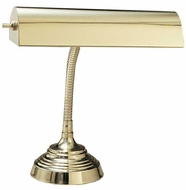House of Troy P10130 P10-130 Ten Inches Piano Lamp in Polished Brass