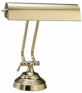 House of Troy P1013161 P10-131 Ten Inches Piano Lamp in Polished Brass
