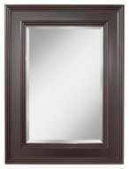 Feiss MR1157ES Eleanor Wall Mounted 48 Inch Tall Home Mirror - Espresso