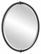 Feiss MR1119ORB Jackie 32 Inch Tall Wall Mounted Bronze Framed Home Mirror