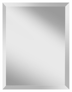 Feiss MR1152 Infinity Beveled Edge 28 Inch Tall Simple Home Mirror - Rectangle