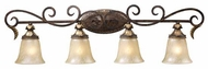 ELK 21534 Regency Traditional 4-Lamp Vanity Light