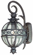 Troy B5001CB Campanile Small 8 17 Inch Tall Bronze Tropical Outdoor Wall Light