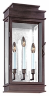 Troy B2973 Vintage Large Mirrored Indoor/Outdoor Wall Sconce Fixture