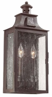 Troy BCD9008OBZ Newton Traditional Outdoor 2 Light Wall Sconce - 8.75 inches wide
