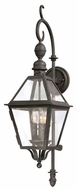 Troy B9621NB Townsend Traditional Outdoor Wall Lantern - 9.25 inches wide
