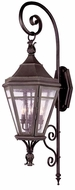 Troy B1273NR Morgan Hill Traditional Outdoor Wall Lantern - 15 inches wide