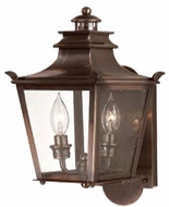 Troy B9490EB Dorchester Traditional Outdoor Wall Lantern - 7.5 inches wide