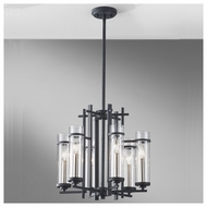 Feiss F26316AFBS Ethan 6-light Modern Chandelier