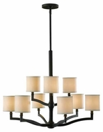 Feiss F252063ORB Stelle 9-Light Chandelier