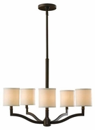Feiss F25195ORB Stelle 5-Light Chandelier