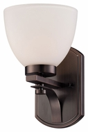 Nuvo 605111 Bentley Hazel Bronze Finish Transitional Sconce Lighting - 10 Inches Tall