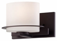 Nuvo 605001 Loren Contemporary Venetian Bronze Finish 6 Inch Tall Sconce Lighting