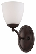 Nuvo 605131 Patton 11 Inch Tall Prairie Bronze Wall Light Sconce