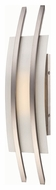 Nuvo 62-102 Trax Brushed Nickel Finish Modern 20 Inch Tall LED Lamp Sconce